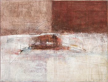 Anders Österlin, oil on canvas, signed, dated 1996.