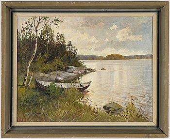 Ejnar Kohlmann, oil on canvas, signed.