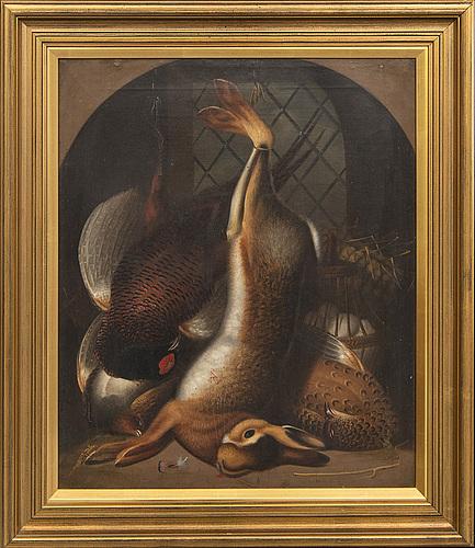 Okänd konstnär 1800/1900-tal , oil on canvas.