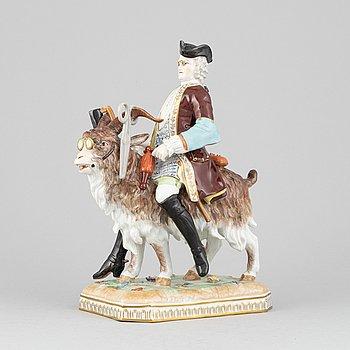 A porcelain figurine, Dresden, 20th century.