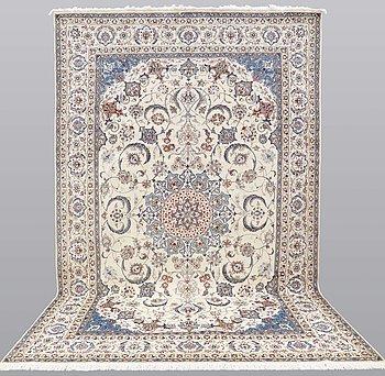 Matto, Nain Part Silk, sk 9 LAA, ca 412 x 244  cm.