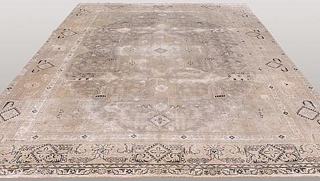 A carpet, oriental, ca 365 x 280 cm.