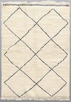 A carpet, Morocco, ca 225 x 165 cm.