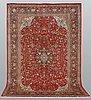 A carpet, sarouk, ca 300 x 202 cm.