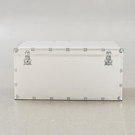 Suitcase, metal / aluminum, 1900s.