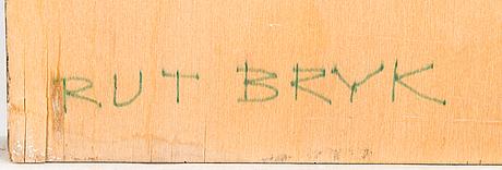 Rut bryk, a relief signed rut bryk.