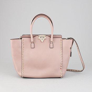 Valentino, a 'Rockstud' leather handbag.