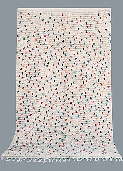 A carpet, Morocco, ca 236 x 150 cm.