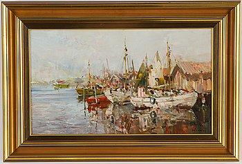Hugo Öfverström, oil on canvas, signed.