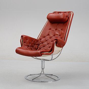 Bruno Mathsson, a 'Jetson' swivel lounge chair, Dux, designed 1969.