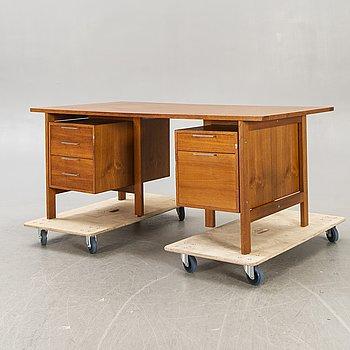 Skrivbord 1960-tal.