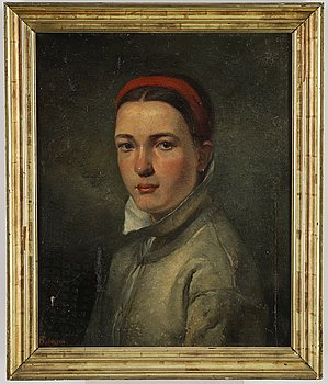 Hugo Salmson, oil on canvas, signed and dated -65.