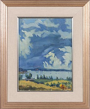 Weikko Puro, oil on canvas, signed and dated 1940.