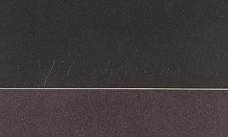 Yrjö edelmann, lithograph, signed, numbered 28/150.