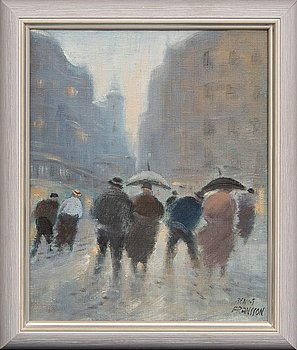 Bengt Fransson, oil on canvas, signed.