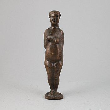 Bror Marklund, bronze sculpture. Signed Bror Marklund, numbered 11/85, dated 1945.