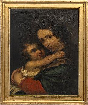 Unknown artist, 18th century, manner of J K Seekatz, oil on canvas.