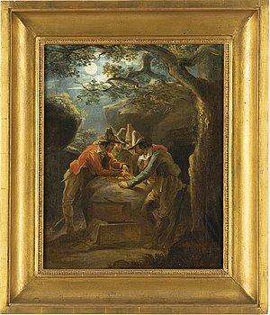 Johan Christoffer Boklund, oil on canvas, signed.