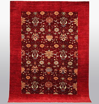 A carpet, Zeigler design, ca 290 x 210.