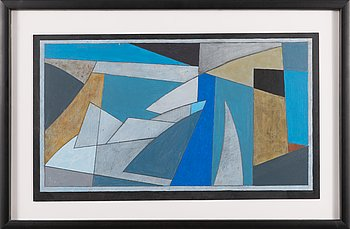 Göran Augustson, acrylic, signed and dated -99.