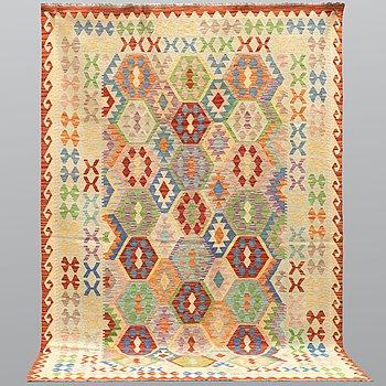 A carpet, kilim, ca 304 x 205 cm.