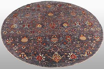 A carpet, Khorjin, diameter ca 248 cm.
