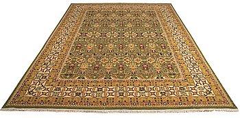 A carpet, Soumak tecnique, ca 255 x 241 cm.
