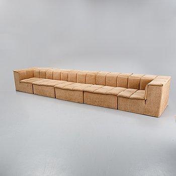 A 1970s modular sofa.