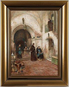 Frans Wilhelm Odelmark, oil on canvas, signed.
