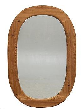 A Swedish 1970/80s pine Glasmäster mirror.