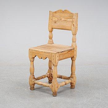 A swedish 19th century chair.