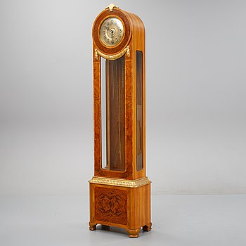 A Gustavian style floor clock, first half of the 20th century.