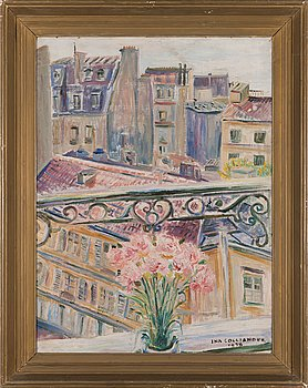 Ina Colliander, oil on canvas, signed and dated 1938.