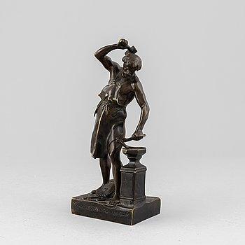 Émile Louis Picault, sculpture. Signed. Foundry mark. Bronze, height 23 cm.