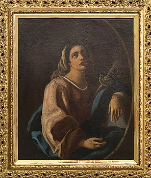 A 17/18th century Italian school oil on canvas.