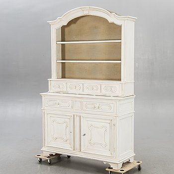 A painted cabinet mid 1900s.