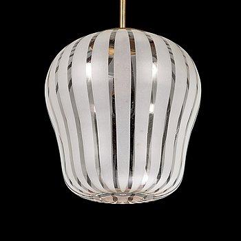 Gunnel Nyman, ceiling light, nr 82504, Idman, Finland 1950s.