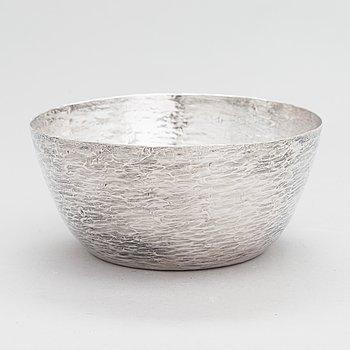 Tapio Wirkkala, silver bowl, Kultakeskus, Hämeenlinna 1969.
