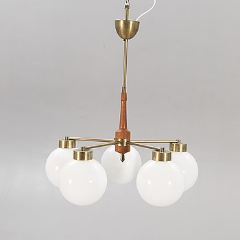 Ceiling lamp, around the middle of the 20th century.