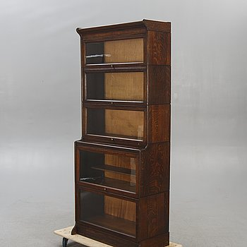 An American bookcase first half of the 20th century.