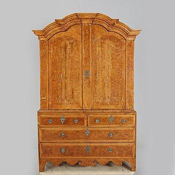 A mid 18th Century rococo cabinet.