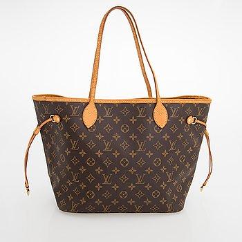 """Louis Vuitton, """"Neverfull MM"""", väska."""