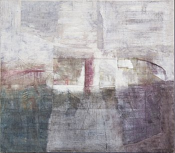 Anders Österlin, a signed and dated oil on canvas.