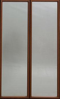 Mirrors, a pair, Åke Johansson, 1960s.