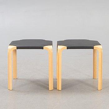 "Alvar Aalto, pallets, a pair, model ""X601"", Artek, second half of the 20th century."
