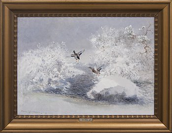 Mosse Stoopendaal, oil on canvas, signed, dated -33.