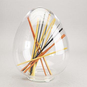 Monica Backström, a signed glass sculpture.