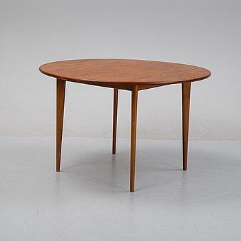 Helge Sibast, a dining table, Sibast Furniture, Denmark, 1950-60s.