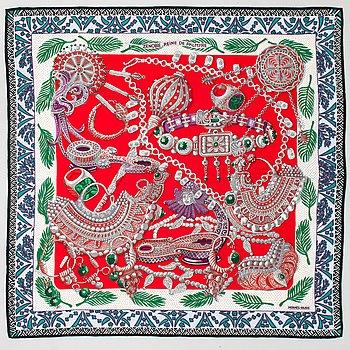 Hermès, 'Zenobie Reine De Palmyre', shawl.