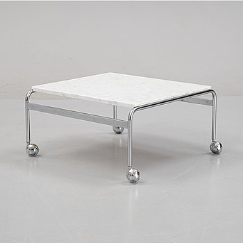 Bruno Mathsson, a 'Karin' coffee table, Dux, second half of the 20th Century.